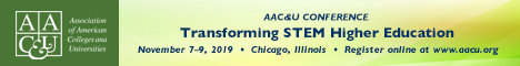 2019 AAC&U Transforming STEM Higher Education Conference (Banner Ad)