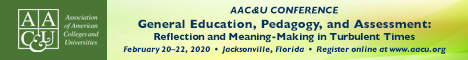 AAC&U 2020 General Education, Pedagogy, and Assessment | February 20-22, 2020 (Banner Ad)
