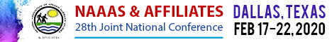 NAAAS & Affiliates 28th Joint National Conference | Feb 17-22, 2020 (Banner Ad)